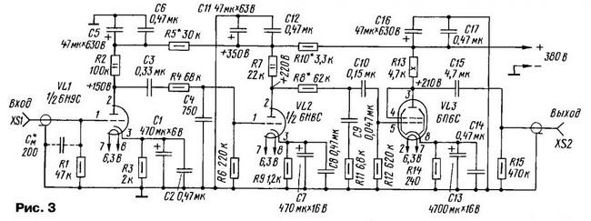 Аналоги лучевого тетрода 6П6С