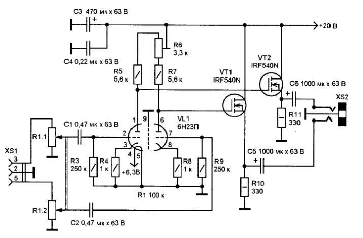 полевых транзисторов и