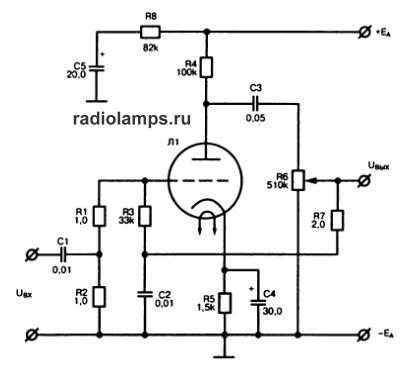 схема регулятора громкости
