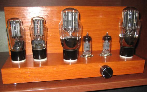 Ламповый усилитель на 6Ж51П и