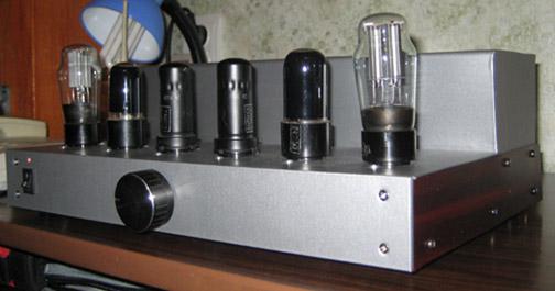 Ламповый усилитель SE на 6П9 и 6П6С.