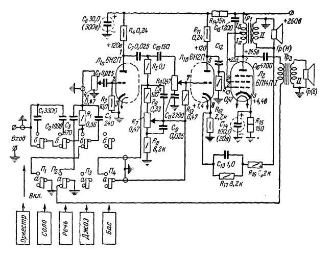 схемы для радиолюбителей